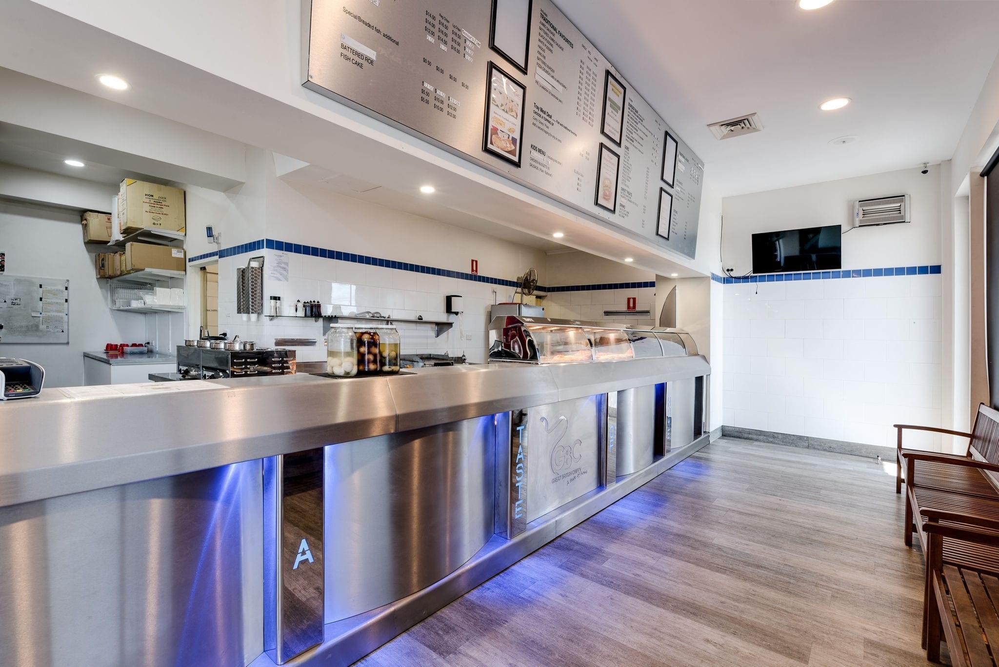 interior kitchen restaurant