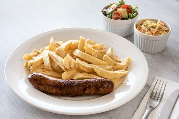 jumbo sausage meal